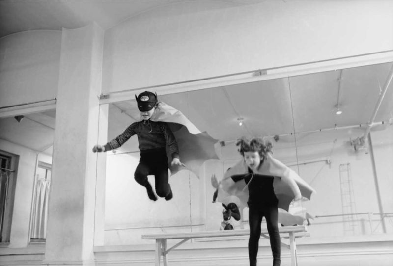 Fascinating Vintage Photos of a Batman-Themed Dance Class in New York in the 1960s