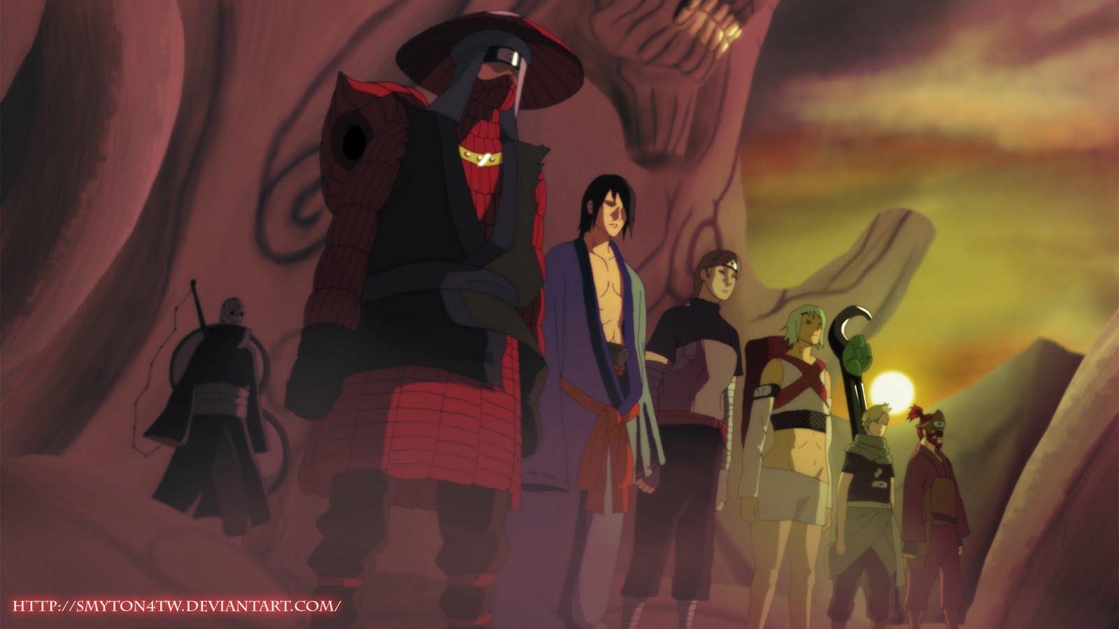Jinchuriiki Dalam Serial Animasi Naruto