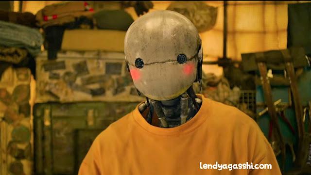 Karakter Yoo Hae Jin sebagai pengisi suara Robot Eobdong : Film Korea Space Sweeper