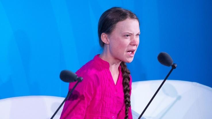 O eco-fascismo Greta Thunberg, manipulada para manipular