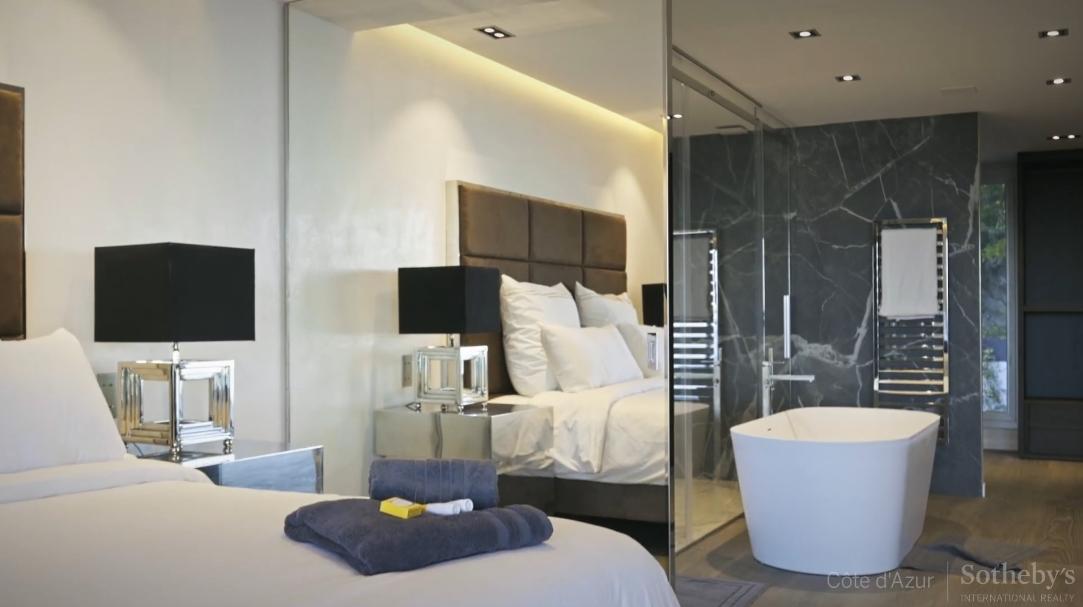 25 Interior Design Photos vs. Super Cannes, France Luxury Modern Villa Tour