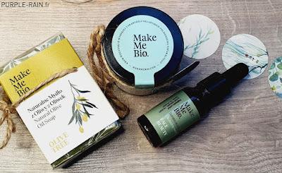Blog PurpleRain : Make Me BIO - Soin peaux mixtes à grasses
