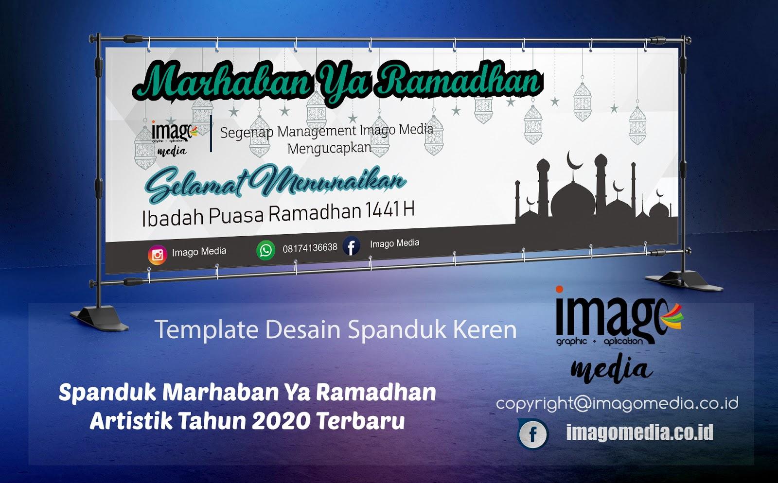 Spanduk Marhaban Ya Ramadhan Artistik Tahun 2020 Terbaru ...