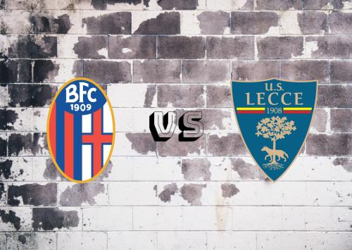Bologna vs Lecce  Resumen