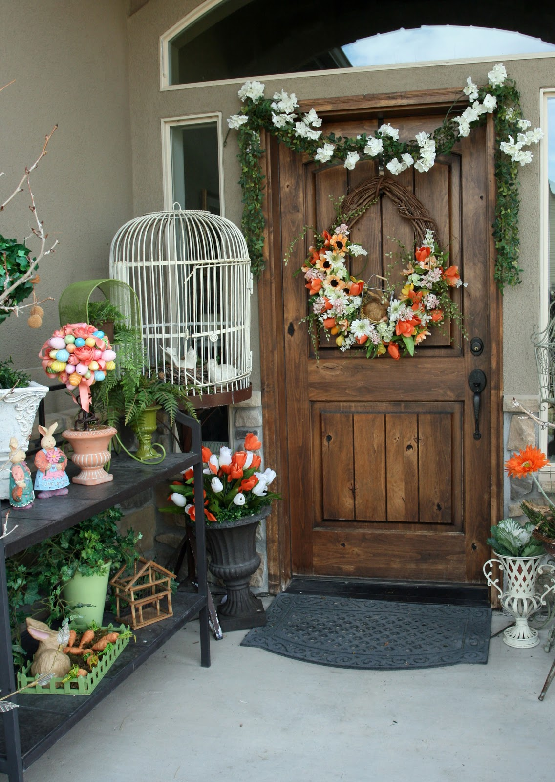 Adventures of a BusyBee Spring Porch Spring Decor Decorating Series Part 3