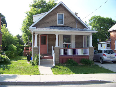 Climbing My Family Tree: 546 Alpha Street, Owen Sound. June 2014. Used with permission from E. Graham.