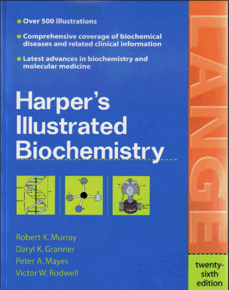 Harpers Illustrated Biochemistry - 26th Edition [PDF]