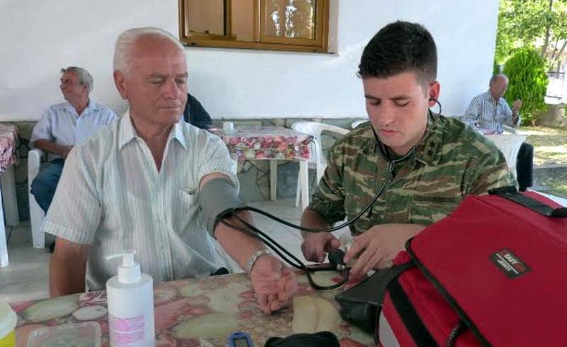 Στρατιωτικό ιατρικό κλιμάκιο στην Άνθεια