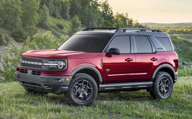 Ford Bronco Sport - concorrente do Compass