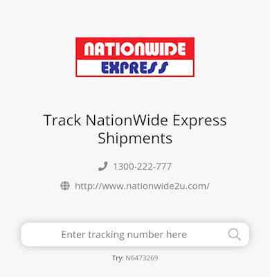 Semakan Tracking Nationwide Express Online