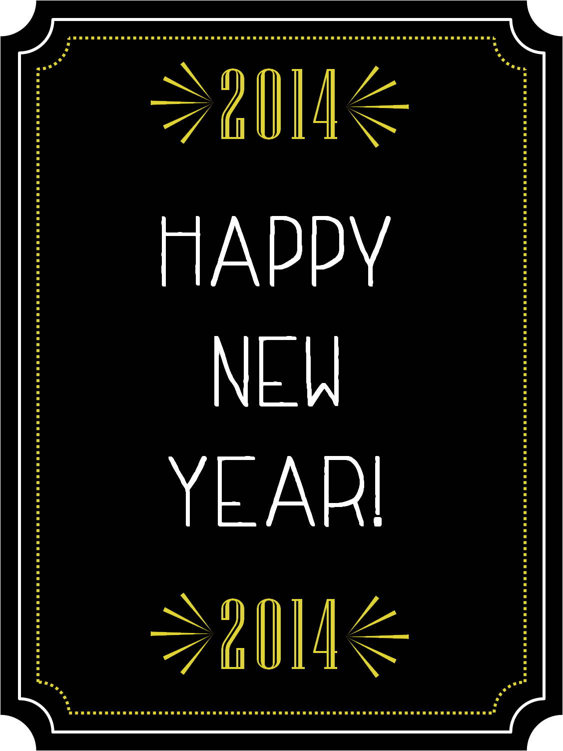 Free New Years Eve Photo Booth Prop Printables
