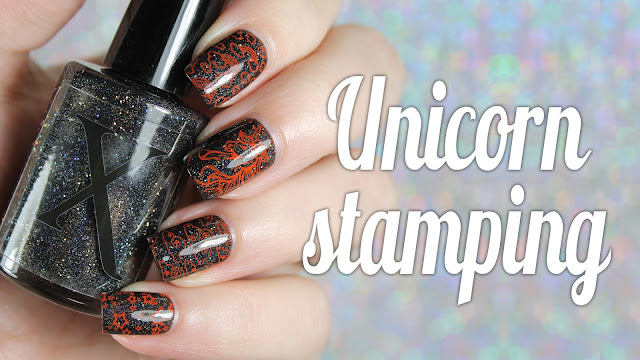 Baroness X + Powder Perfect | Unicorn Stamping
