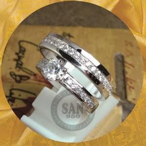 cincin kawin perak p5844