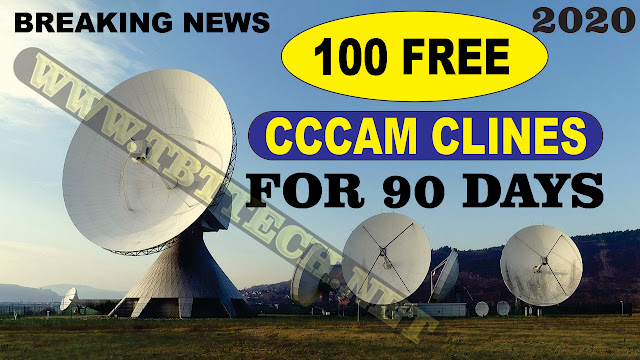 100 Free Cccam Clines For 90 Days
