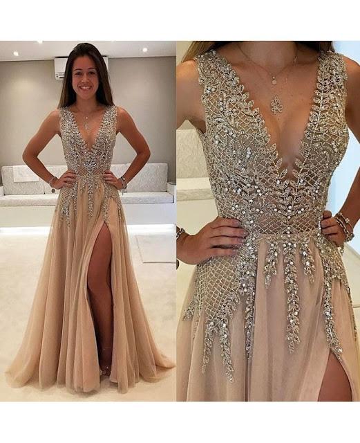 فستان سهرة ملكي 2020