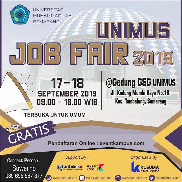 Job Fair Semarang Terbaru