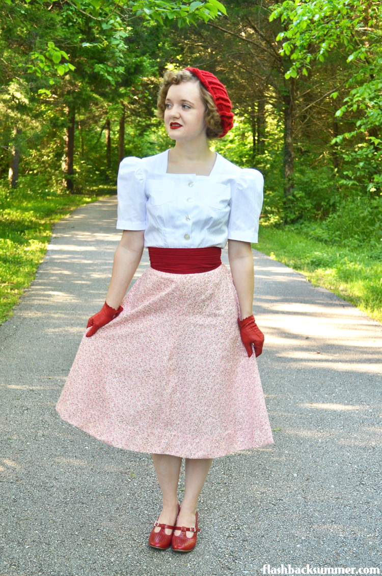 Flashback Summer - 1939 Wearing history sewing pattern - 1930s fashion