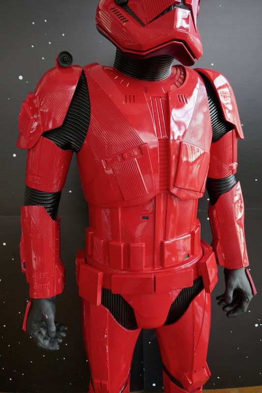 Red Sith Trooper armour Star Wars Rise Skywalker