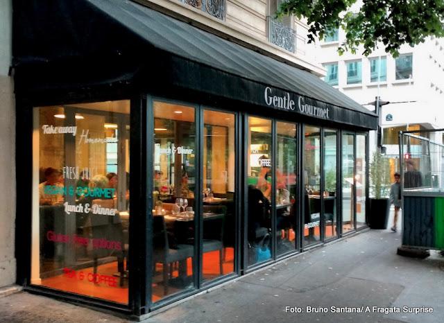 Gentle Gourmet, restaurante vegano em Paris