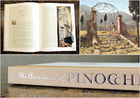 Pinocchio layout and spine