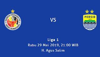 Semen Padang vs Persib Bandung