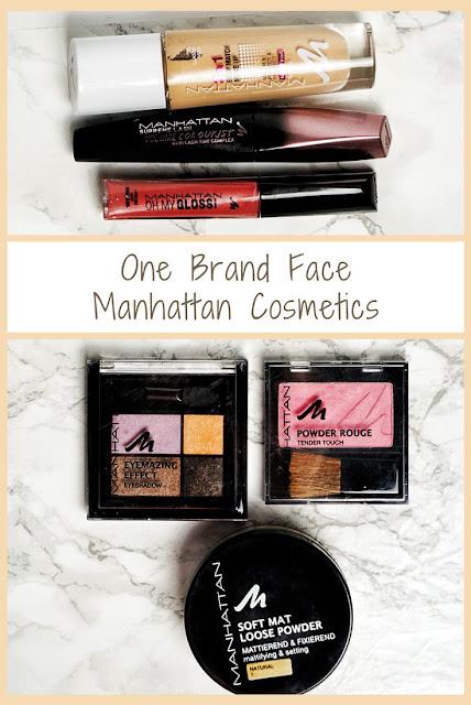 One Brand Face Makeup Manhattan Cosmetics