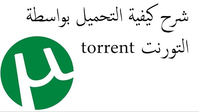 كيفية تحميل الملفات torrent.