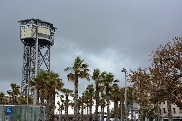 Torre de Sant Sebastia Barcelona