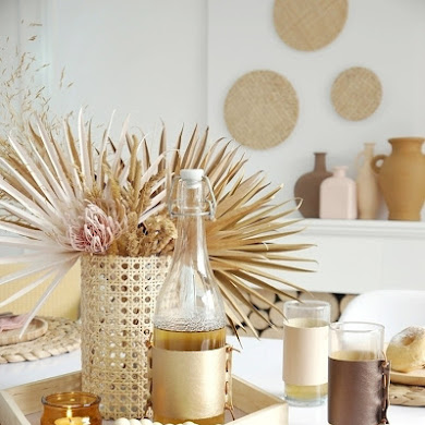 DIY Boho Tablescape Decor