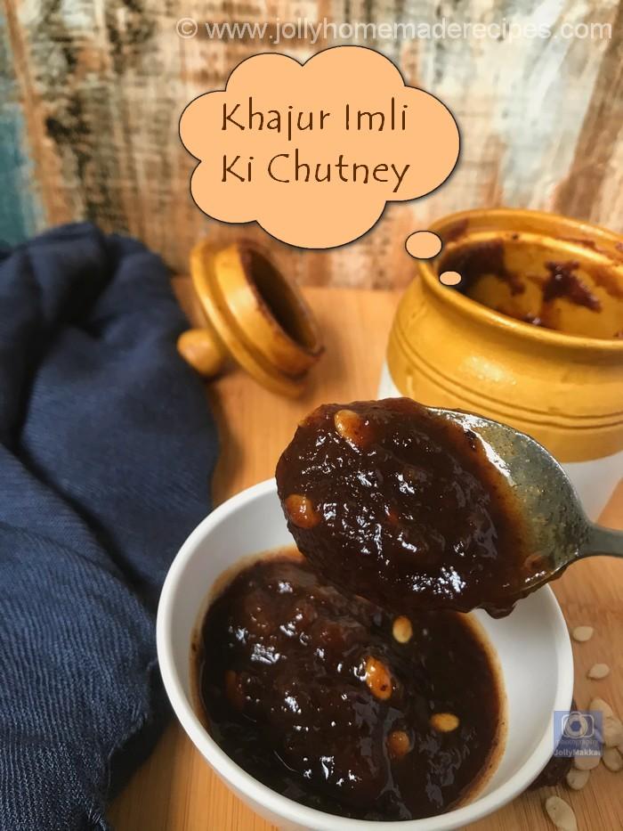 Khajur Imli Ki Chutney