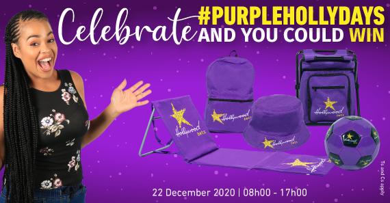 #PurpleHollyDays