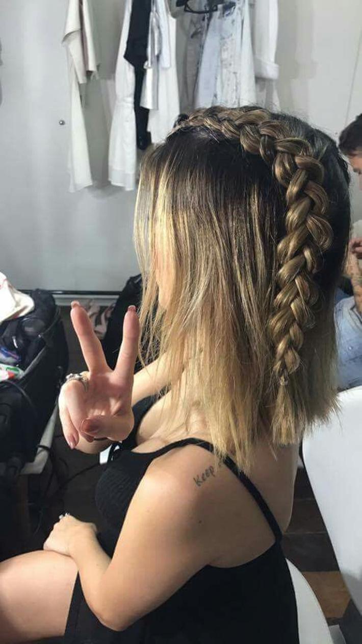 Penteados com trança da Nah Cardoso