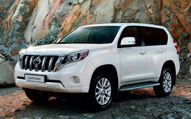 Toyota Land Cruiser Prado 2015-2016