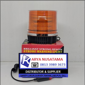 Jual Lampu 12V Warning Light 9 Flash Kuning di Malang