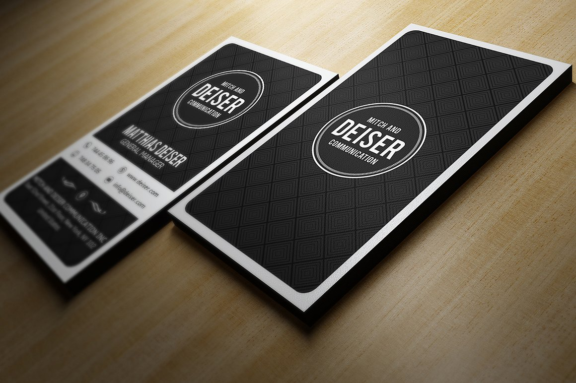 Black business cards business card tips black business cards reheart Image collections