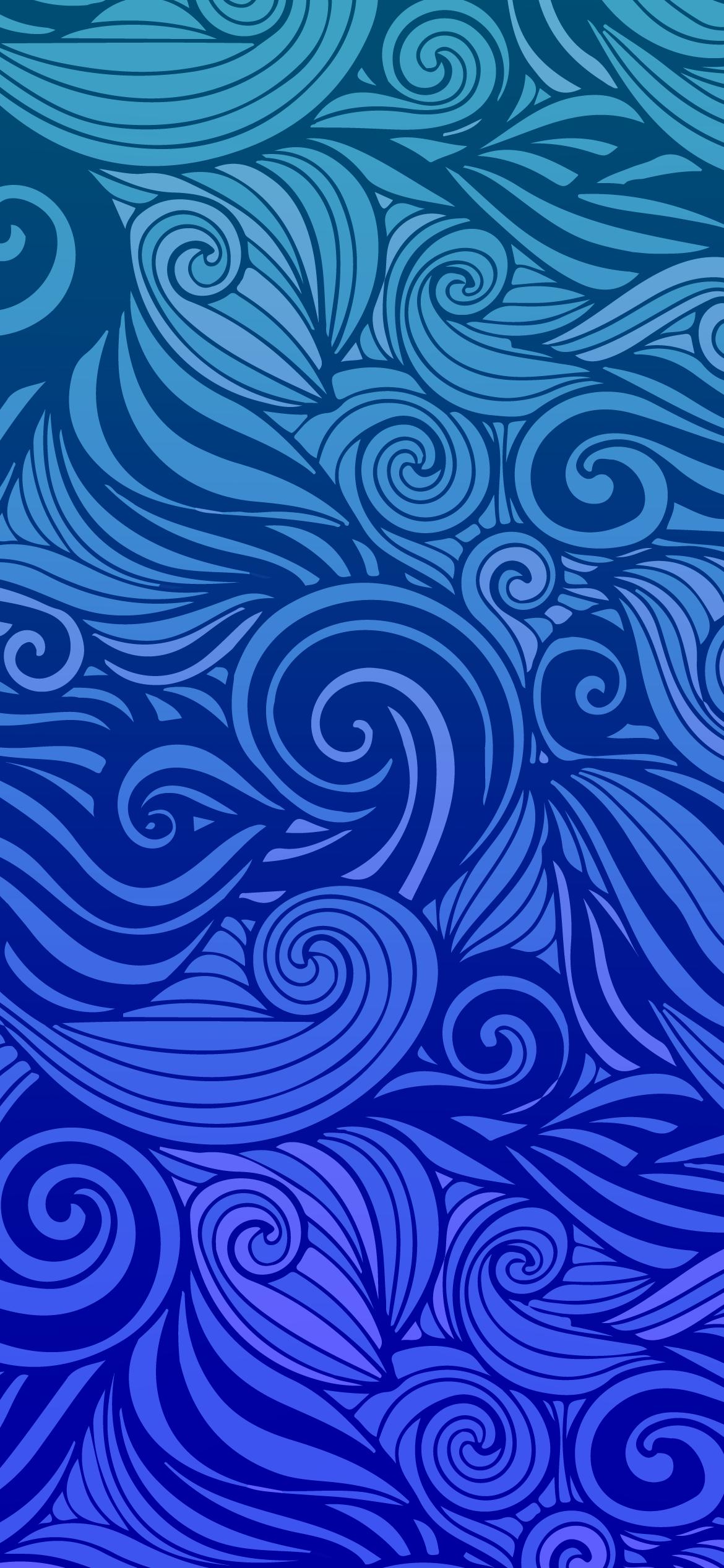 uncompressed blue backfground wallpaper for phone 4k
