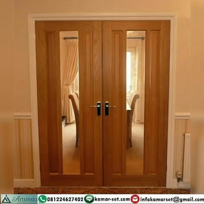 desain 1 pintu rumah minimalis terbaru