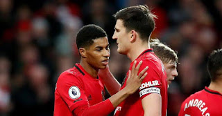 Manchester United Captain Harry Maguire reacts to His Beef With Marcus Rashford