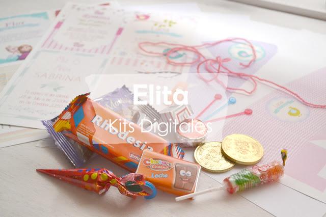 Kits Imprimibles para decorar fiestas de cumpleaños