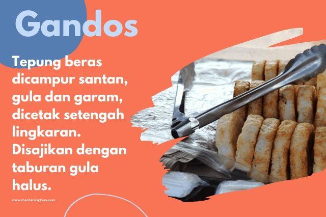 gandos khas Semarang