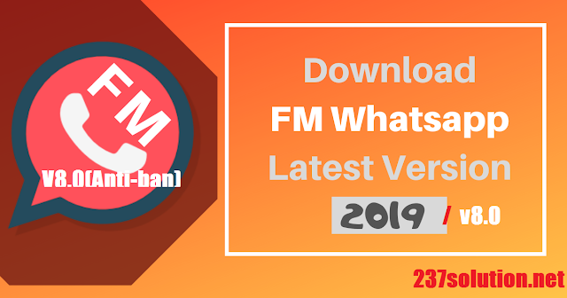 Download FMWhatsApp V8.0 latest apk(Anti-ban)