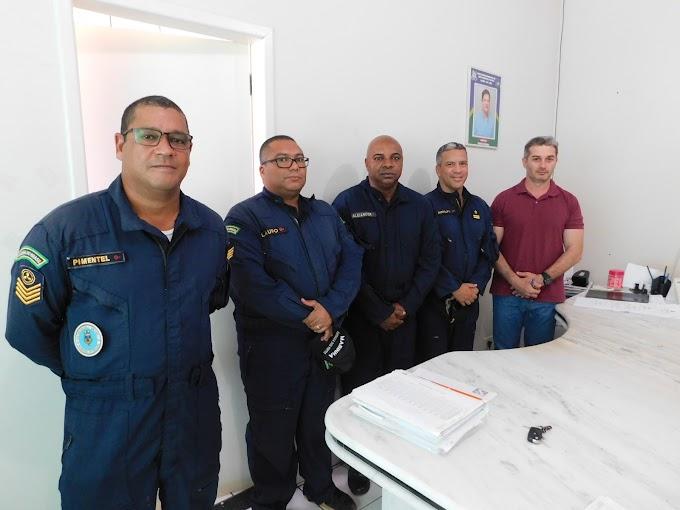 Alta Floresta: Oficias da Marinha brasileira vem ao Município para planejar curso para operadores de navegação fluvial