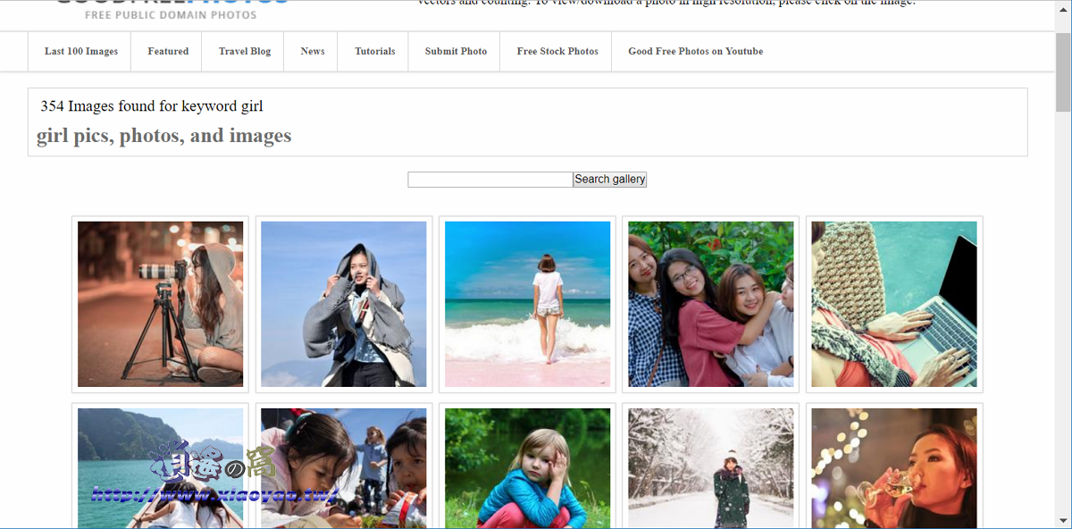 GoodFreePhotos 旅遊主題的免費圖庫