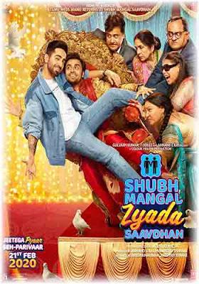 Shubh Mangal Zyada Saavdhan 2020 Hindi 720p HDRip  ESubs x264