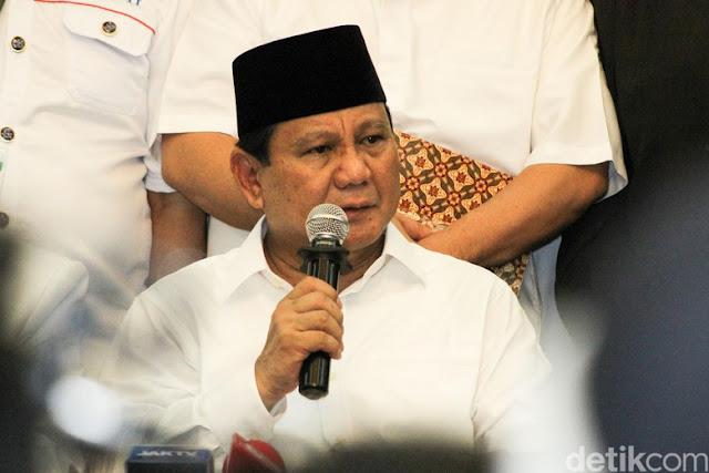 Dukungan HRS yang Disambut Prabowo dengan Haru dan Takbir