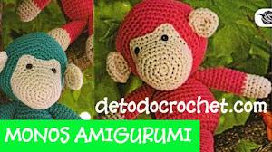 Cómo tejer monos amigurumis paso a paso