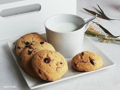 Galletas con pepitas de chocolate o Cookies