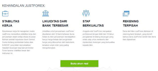 Begabung Trading Forex Bersama JustForexIDN | Broker Forex Terpercaya Dengan Perdagangan Yang Nyaman