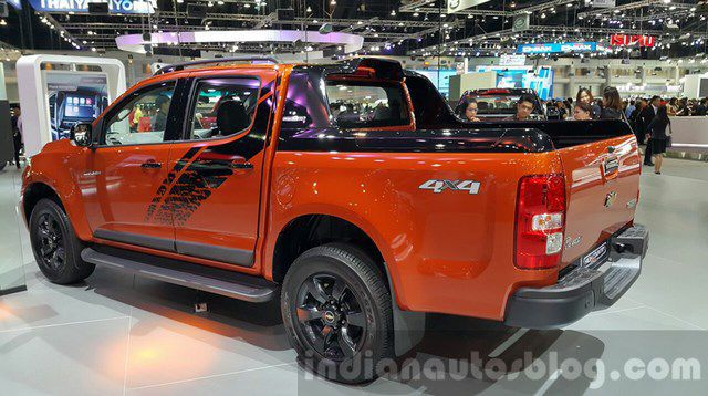 Ra mắt xe Chevrolet Colorado High Country Storm