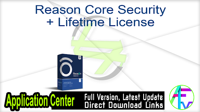 Reason Core Security + Lifetime License